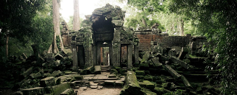 Ruiny Angkorských paláců, Kambodža
