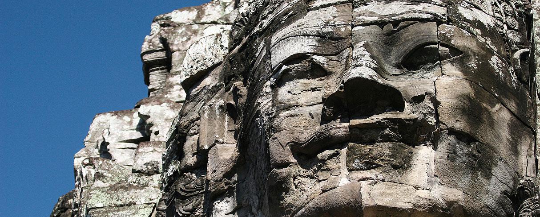 Chrám Bayon, Angkor, Kambodža