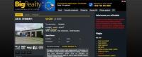 BigReality realitní portál - redakční systém Drupal