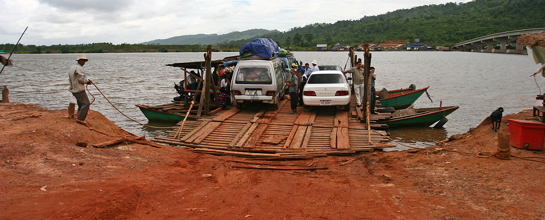 Přívoz v Kambodži