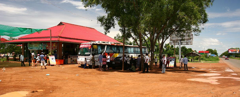 Cesta ze Siem Reap do Phon Penh, Kambodža