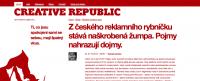 Web CREATIVE REPUBLIC - Redakční systém Drupal