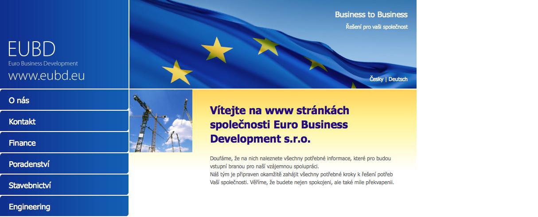 Euro Enterprise Business s.r.o. website - redakční systém Drupal