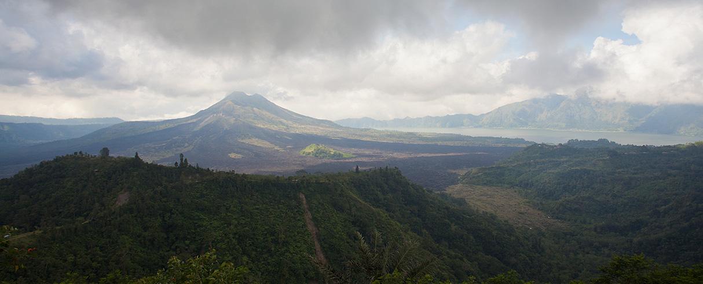 Gunung Batur, Kintamani, Bali, Indonésie