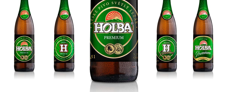 Návrh etiket HOLBA