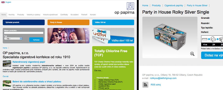 Papirky.cz redesign webu