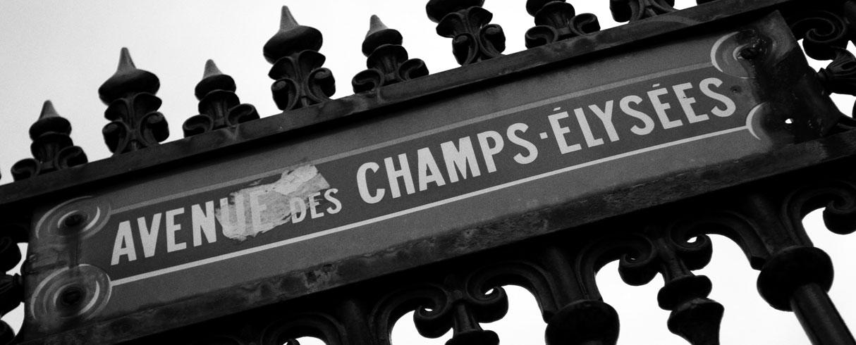 Avenue des Champs Élysées, Paříž, Francie