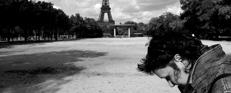 Hřiště, Eiffelova věž, Paříž, Francie