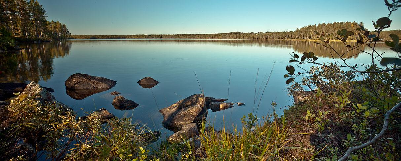Jezero Tallträsket - Švédsko