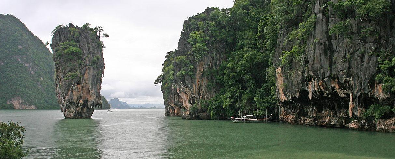 Ostrov James Bond - Muž se zlatou zbraní, Phang Nga, Thajsko