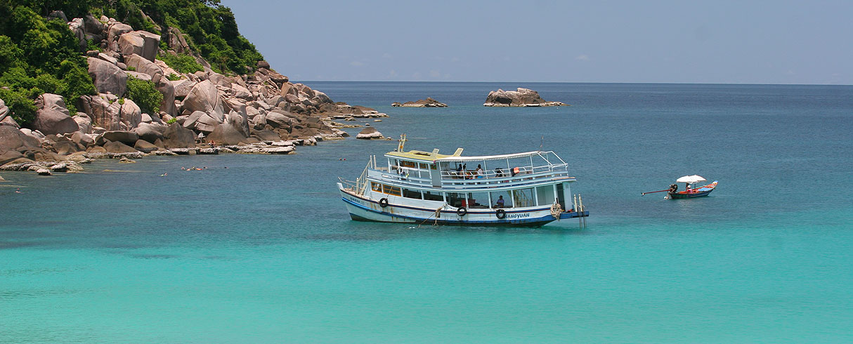 Ostrov Koh Tao, střední Thajsko