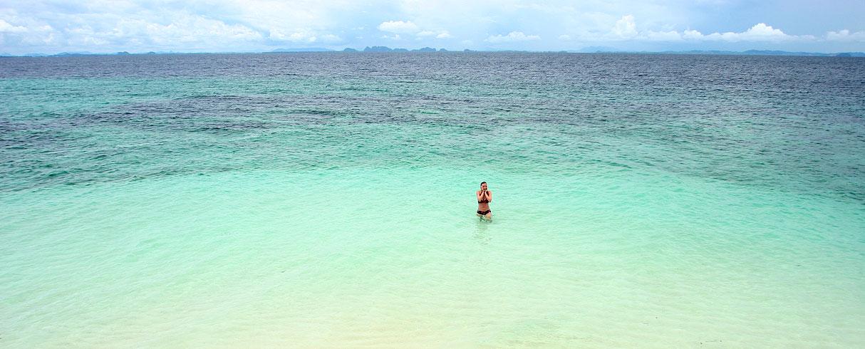 Nikde nikdo, záliv Phang Nga, Thajsko