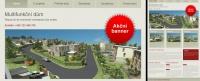 Layout webu Multifunkční dům nároží Valová Zábřeh